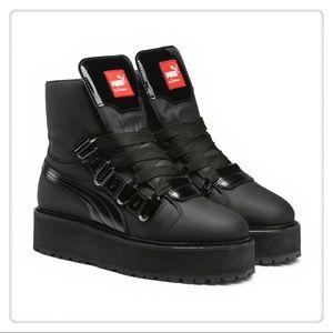 Rihanna SB Black Eyelet Boot (Men/Unisex)